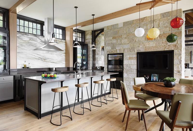 Interior Spaces - Kitchen