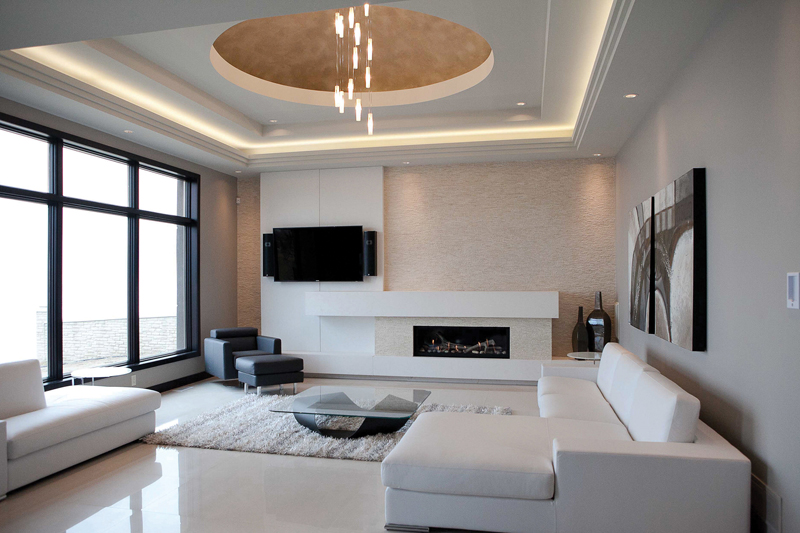 Interior Spaces - Living Room