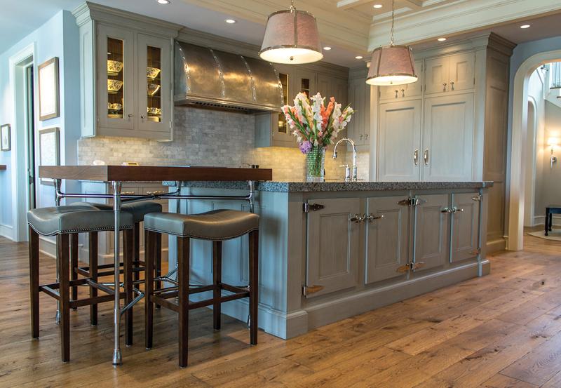via design - kitchen island