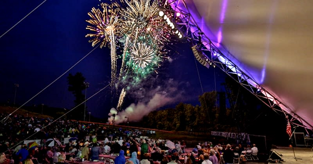 Grand Rapids Symphony Picnic Pops Classical Fireworks performance
