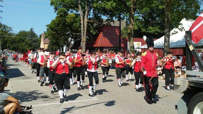 Danish Festival Greenville parade