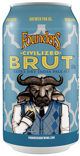 Founders Brewing Co. Civilized Brut can