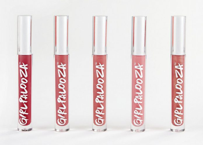 Girlpalooza lip gloss tubes