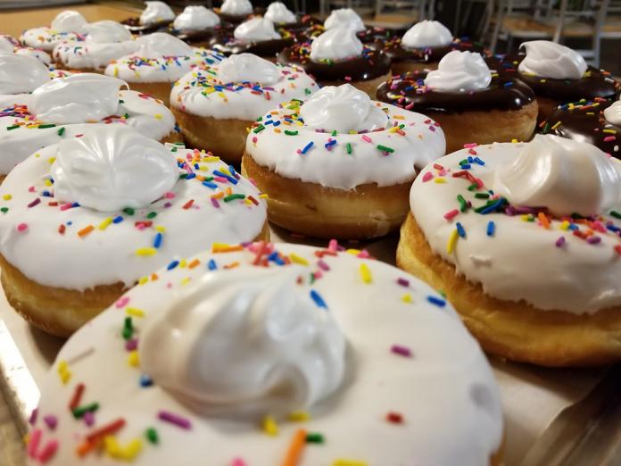 Sprinkles Donut Shop vanilla bird nest