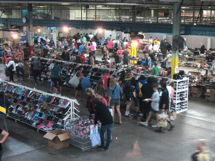 Wolverine Worldwide Super Mega Warehouse Sale