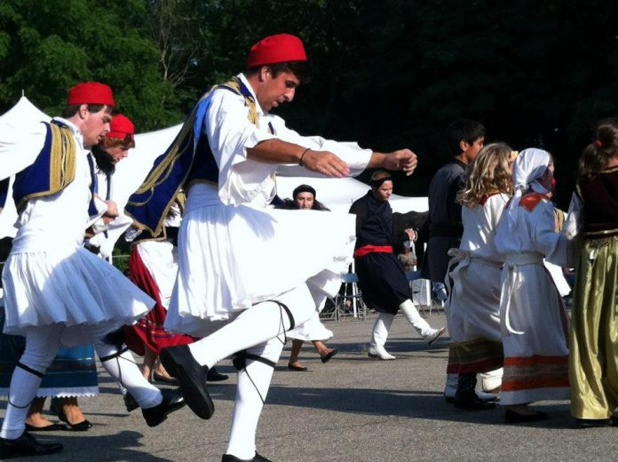 Yassou! Grand Rapids Greek festival dancers