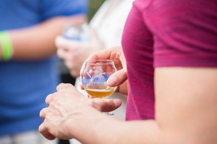Brewery Vivant Wood Aged Beer Fest beer glass