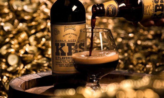 Founders Brewing Co. KBS bottle glass beer