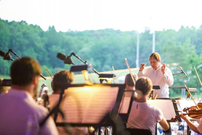 Grand Rapids Symphony outdoor concert