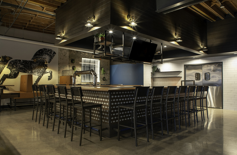 The Friesian Gastro Pub bar