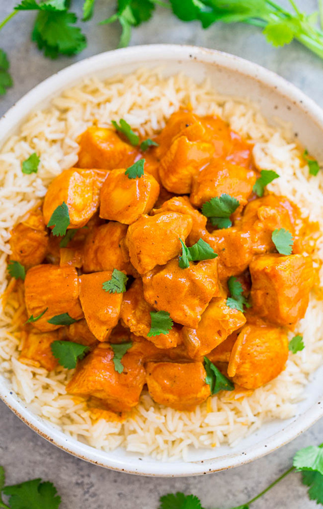 Pind Indian Cuisine butter chicken