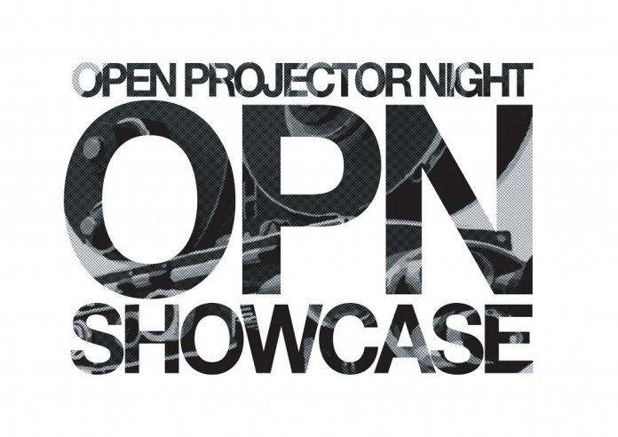 UICA Open Projector Night Showcase 2019 poster