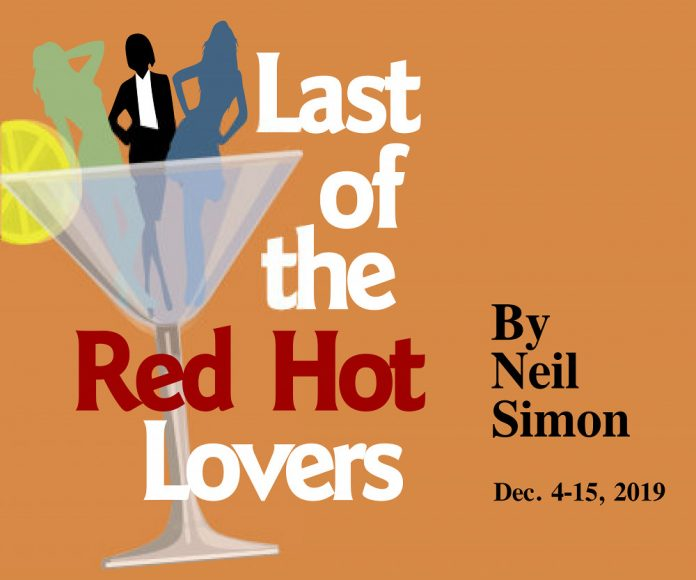 Last of the Red Hot Lovers play poster Jewish Theatre Grand Rapids
