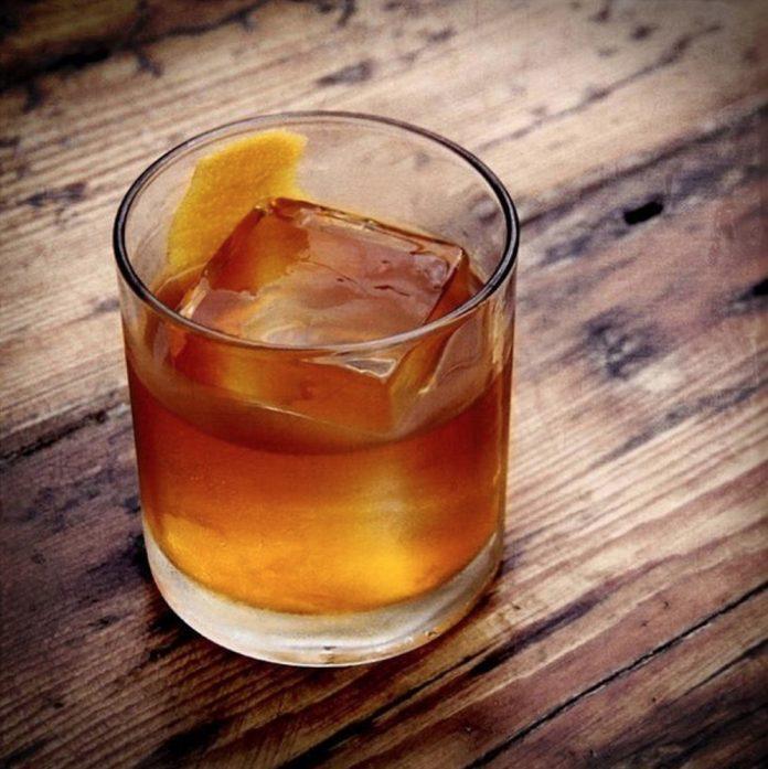 Wise Men Distillery cocktail spirits glass