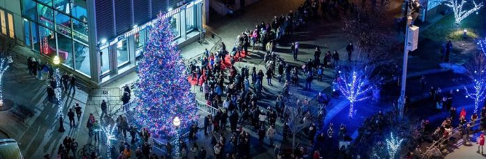 downtown Grand Rapids Christmas Tree Lighting