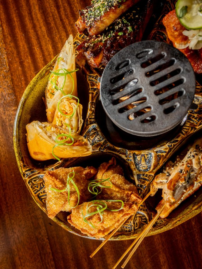 Max's South Seas Hideaway pu pu platter